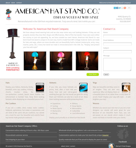 American Hat Stand Co. (americanhatstandco.com)