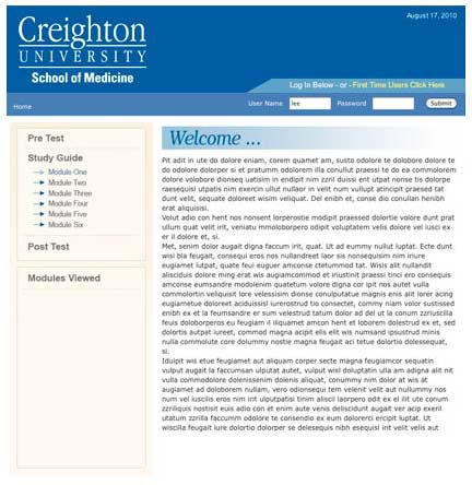 creightonpulminary.com (Note: Site closed to the public)